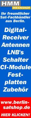 Berlin Satshop - Satanlagen, Digital TV Receiver, LNB, Multischalter, CI-Module, Zubehör uvm.