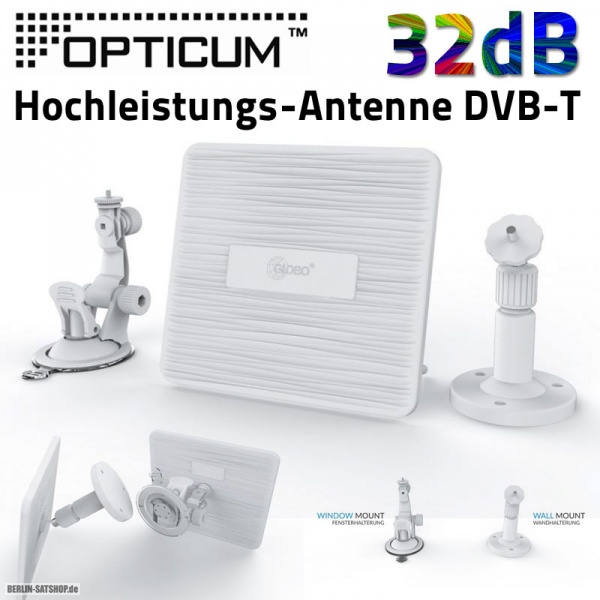 opticum blue z2 dvb t2 outdoor camping antenne hohe verst rkung hdtv hd nur 14 95 berlin satshop. Black Bedroom Furniture Sets. Home Design Ideas