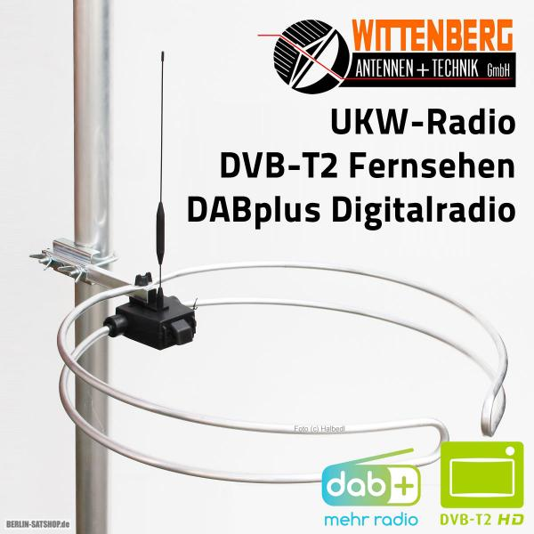 ukw dabplus dvb t2 multiband antenne wittenberg wb2345 2. Black Bedroom Furniture Sets. Home Design Ideas