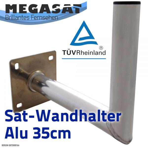 megasat wh4 35cm alu sat wandhalter t v zertifiziert alu nur 8 95 berlin satshop. Black Bedroom Furniture Sets. Home Design Ideas