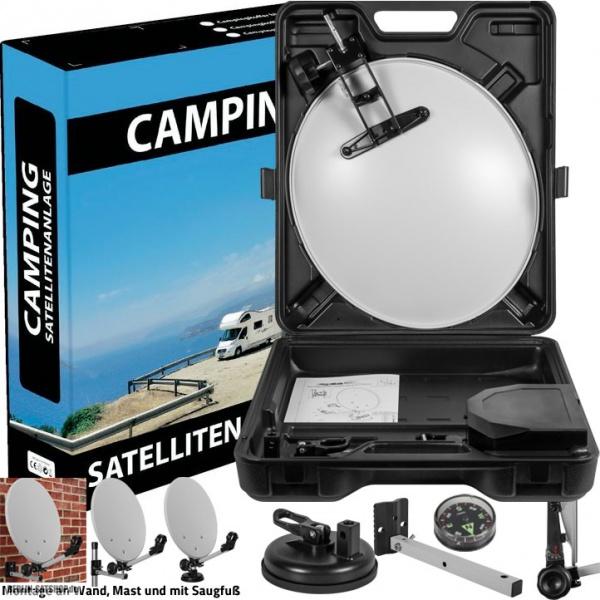 megasat camping koffer 40cm sat antenne mit zubeh r nur 19 95 berlin satshop. Black Bedroom Furniture Sets. Home Design Ideas