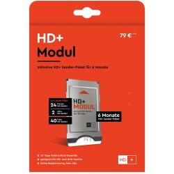 HD plus Modul - incl.6 Monate HD+-Paket - CI+ Modul mit HD+ Karte