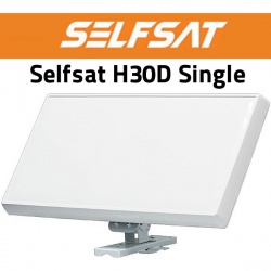 Selfsat H30D Single-Flachantenne neue Generation