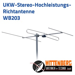 UKW Antenne 3 Elemente Wittenberg WB203