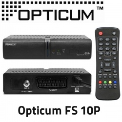 Opticum FS 10P Digitalreceiver digitaler Sat-Receiver