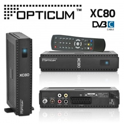 Opticum XC80 Kabel Receiver digital DVB-C mit Conax Kartenleser