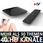 VIPTV Box VIP-TV-Set-Top-Box IPTV-Receiver für 40 Live XXX-HDTV-Sender DLAN-tauglich