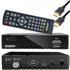 Edision Proton Full-HD Sat-Receiver - HDTV DVB-S2 digital USB 2.0 Mediaplayer