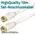 zum Artikel Sat-Anschlußkabel HighQuality 2xF-Stecker vergoldet mit Filter 10m