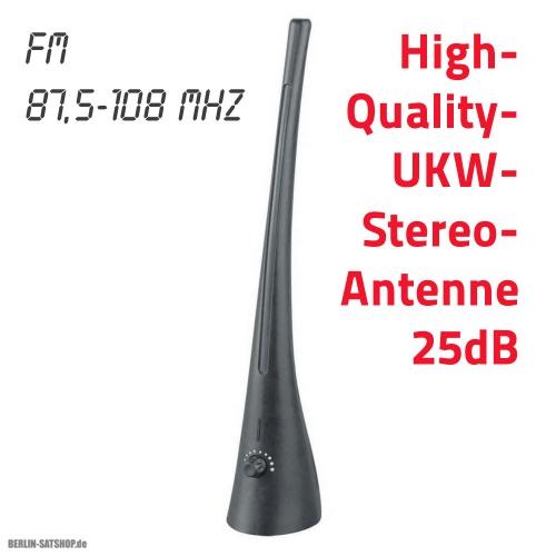 25db highquality ukw zimmerantenne fm radio antenne 25db. Black Bedroom Furniture Sets. Home Design Ideas